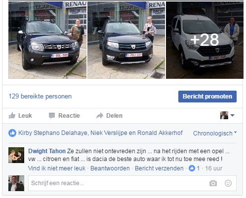 dacia commentaar 2016