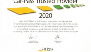 Car-Pass Trusted provider